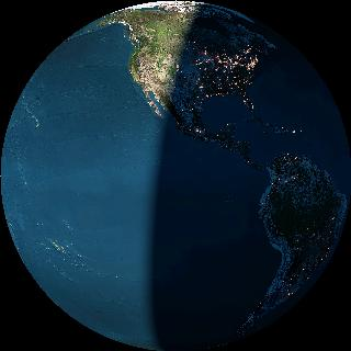 Click to see the earth viewed from a satellite