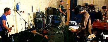 Kid A studio.